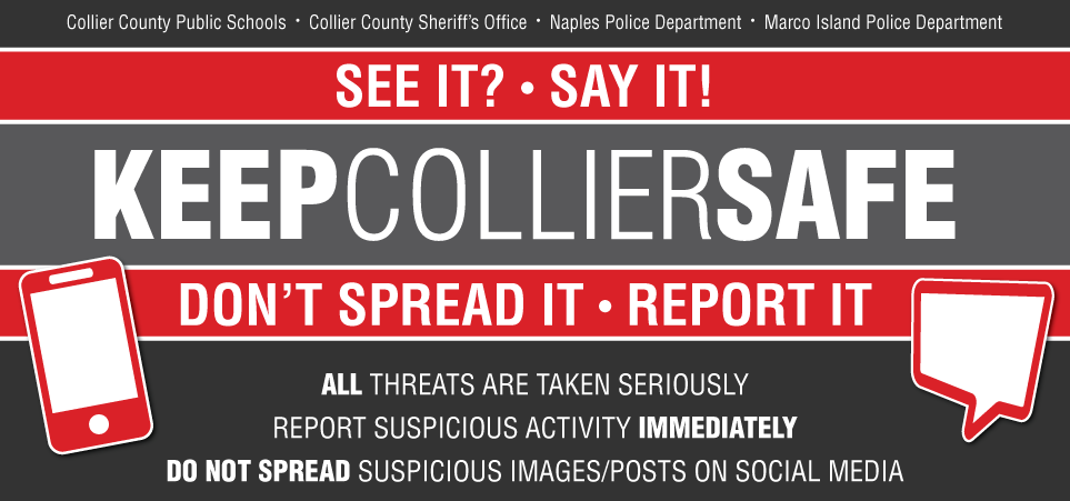 Keep Collier Safe Banner