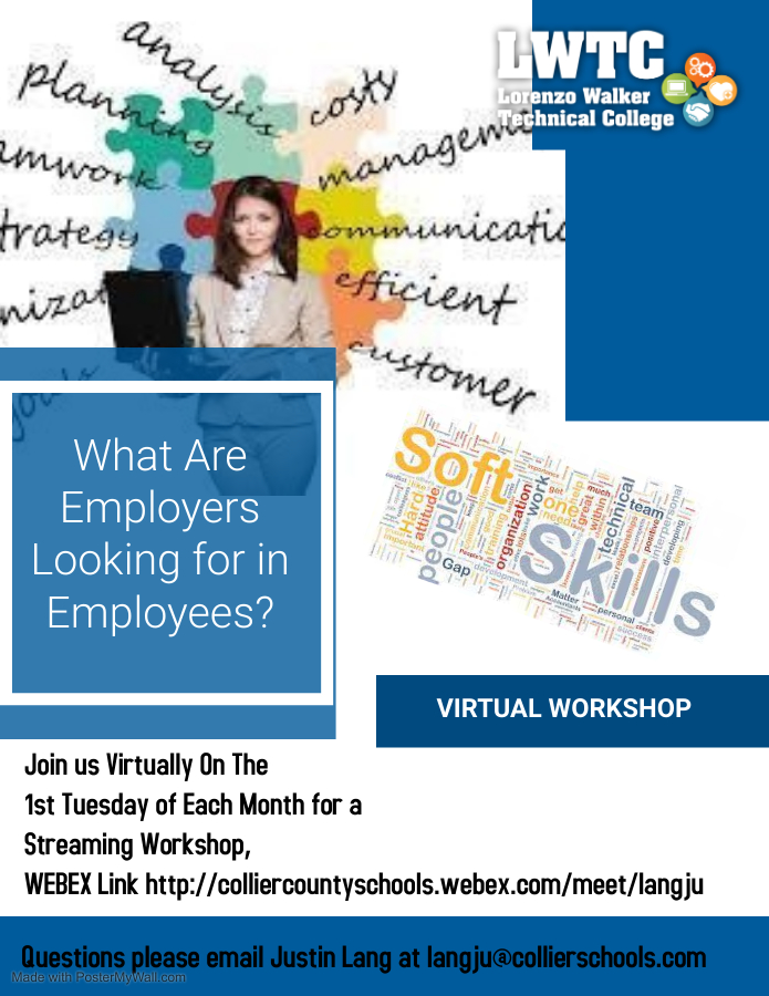 Virtual Workshop what do employers want